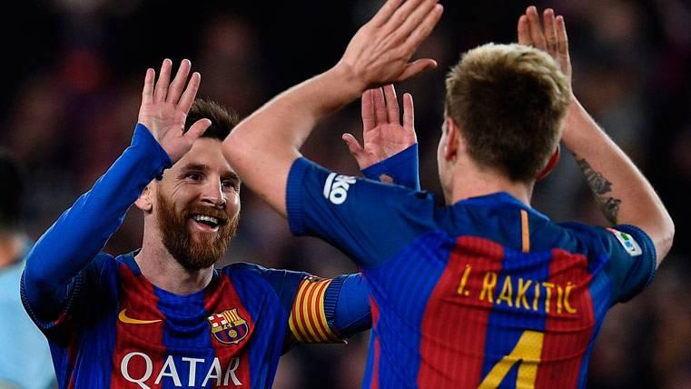"""Rakitic: """"Lo que tiene Messi con el Barça no se paga con dinero"""""""
