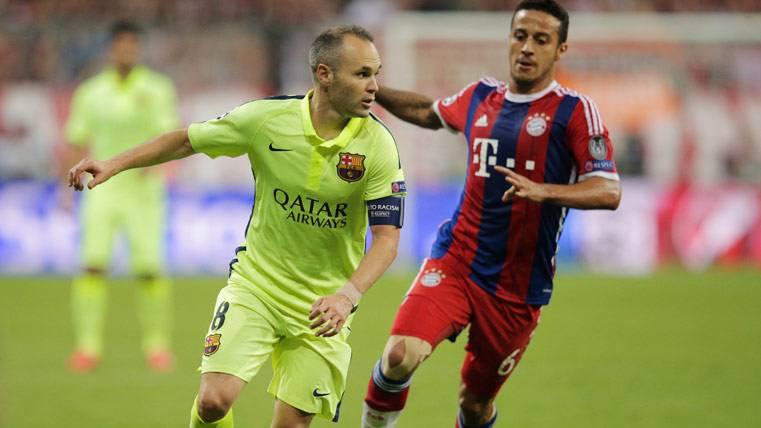 Iniesta abre la puerta al regreso de Thiago Alcántara al Barça