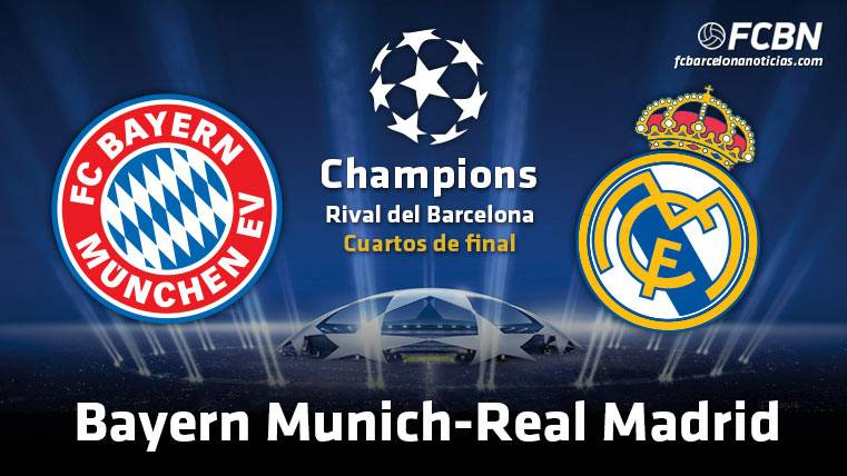 El Real Madrid se enfrentará al Bayern de Munich en cuartos