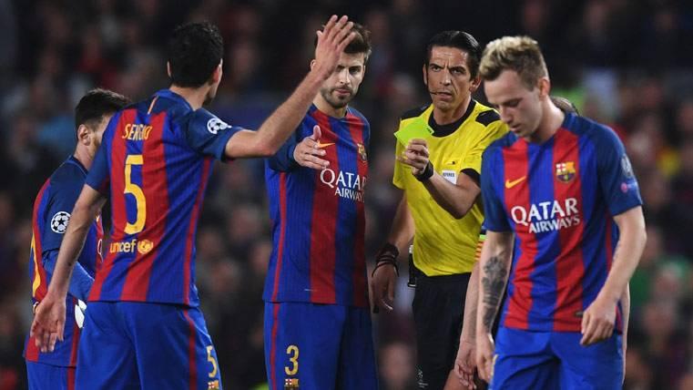 Busquets no jugará en Turín y el Barça, con 3 apercibidos
