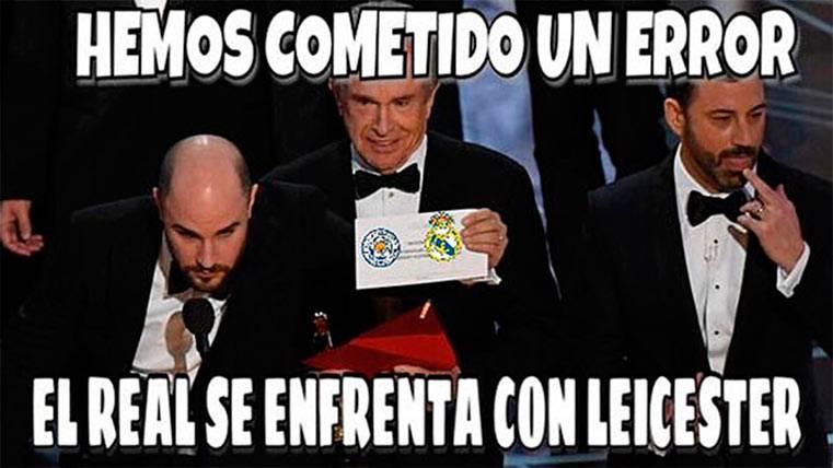 """El gracioso """"meme"""" sobre el sorteo de cuartos y el Madrid"""