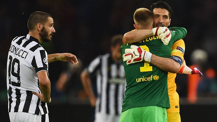 La portería será clave en el Juventus-FC Barcelona