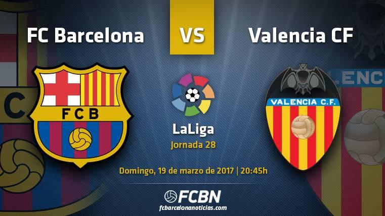 Barcelona-Valencia: A seguir luchando en Liga antes del parón