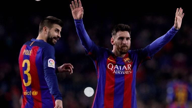 ¿Provocarán la amarilla Piqué y Messi frente al Valencia?