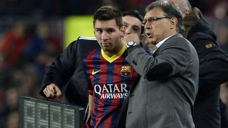 """""""Lionel Messi y Mascherano no me hacían la alineación"""""""