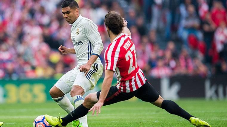 Casemiro no debió haber marcado el gol ante el Athletic
