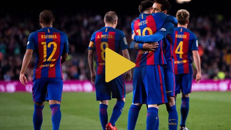 Vídeo resumen: Barcelona 4 Valencia 2 (LaLiga J28)