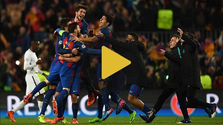 La remontada del Barça al PSG, en una divertida parodia
