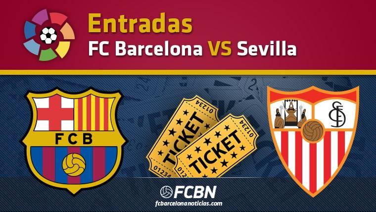 Entradas FC Barcelona vs Sevilla - La Liga