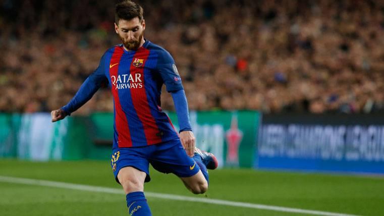 La fecha aproximada para la renovación de Messi con el Barça