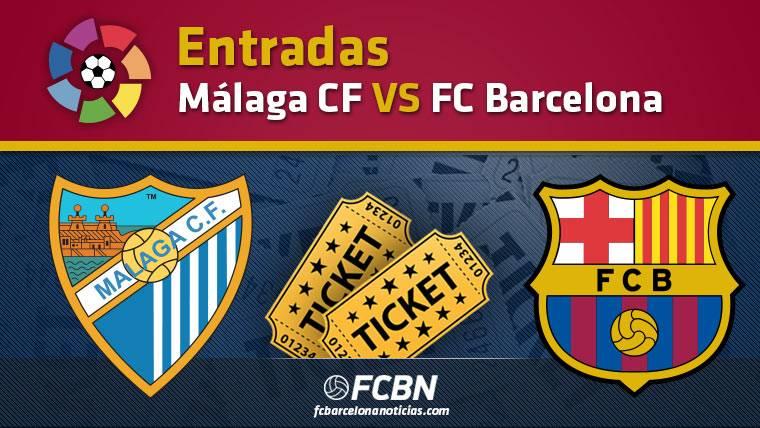 Entradas Málaga vs FC Barcelona