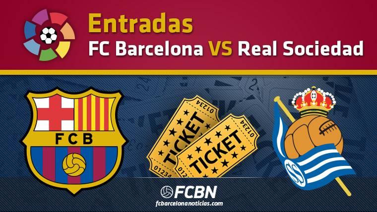 Entradas FC Barcelona vs Real Sociedad