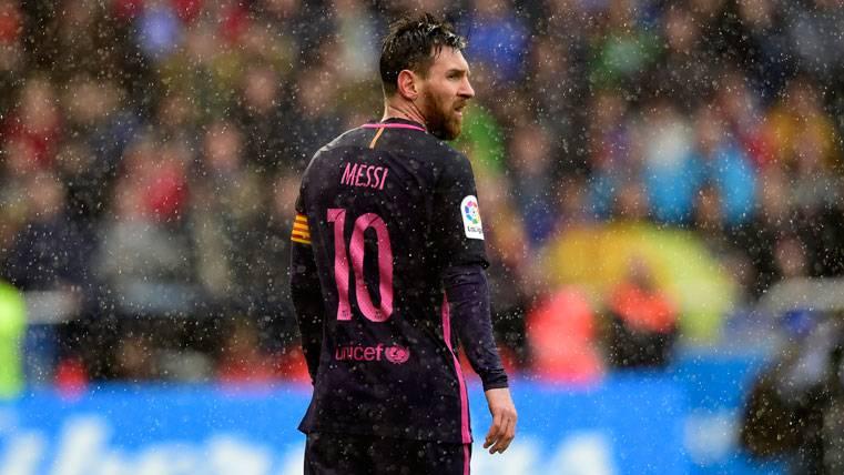 SORPRESA: ¿Podrá jugar Messi en Granada pese a la amarilla?