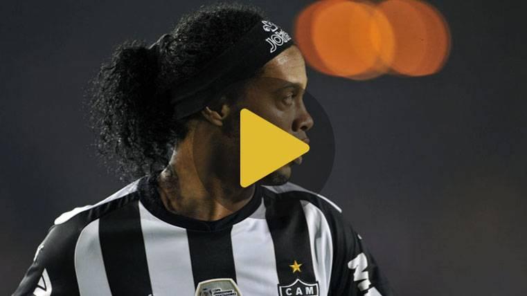 El día que Ronaldinho marcó un golazo y rompió a llorar