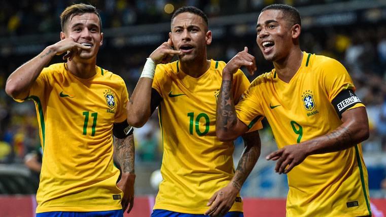 Neymar Jr, asombrado por el potencial de Gabriel Jesús