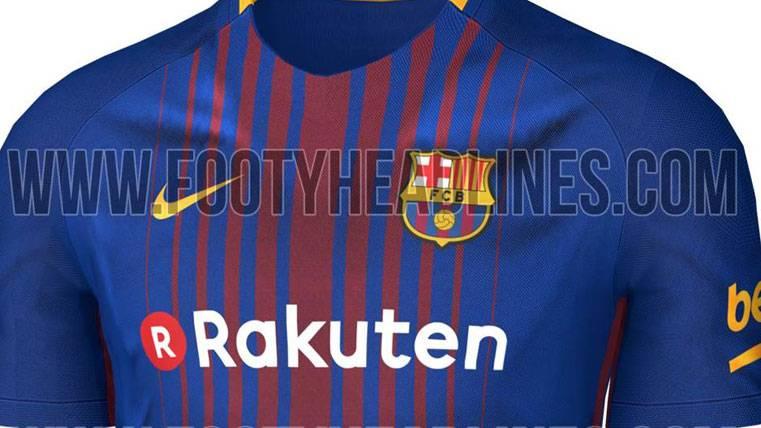 Desvelada cómo será la camiseta del Barcelona 2017-18