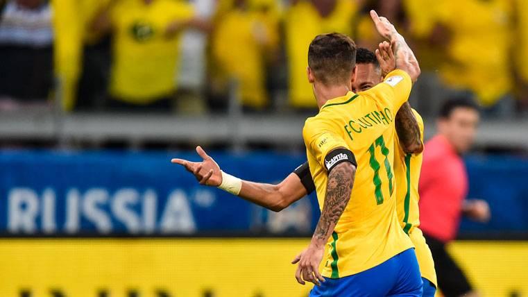"""Neymar """"ficha"""" a Coutinho para el Barça: """"Tendría sitio"""""""