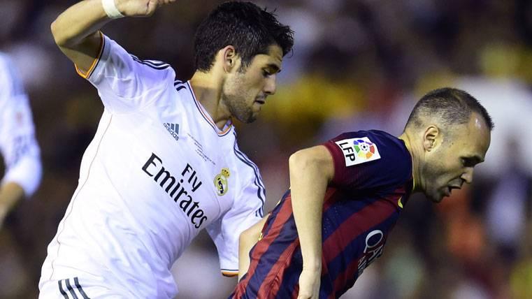 """Iniesta: """"Isco es un jugador fantástico, de un talento brutal"""""""