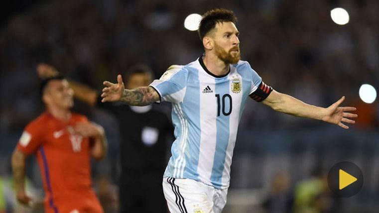 OVACIÓN: El Monumental se rindió a los pies de Leo Messi