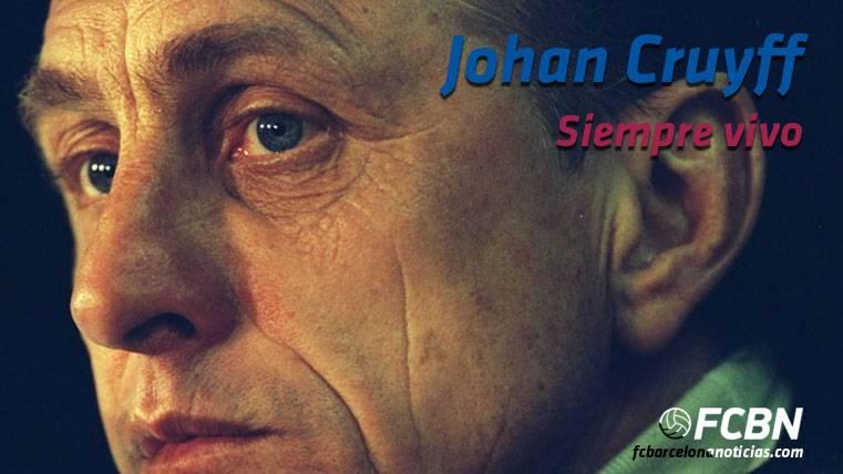 Johan Cruyff, siempre vivo en el recuerdo de los barcelonistas