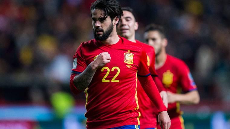 Isco se pronuncia sobre el supuesto interés del Barça