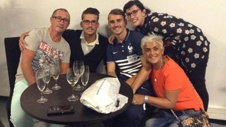 La familia de Griezmann explota ante los rumores de traspaso