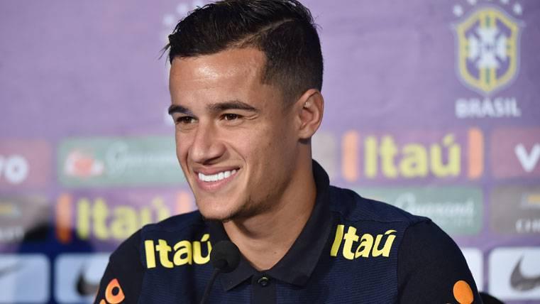 """Coutinho, encantado: """"Es muy fácil jugar al lado de Neymar"""""""