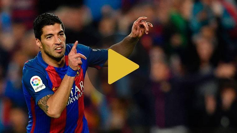 La fórmula de Luis Suárez para marcar siempre en el 1 vs 1
