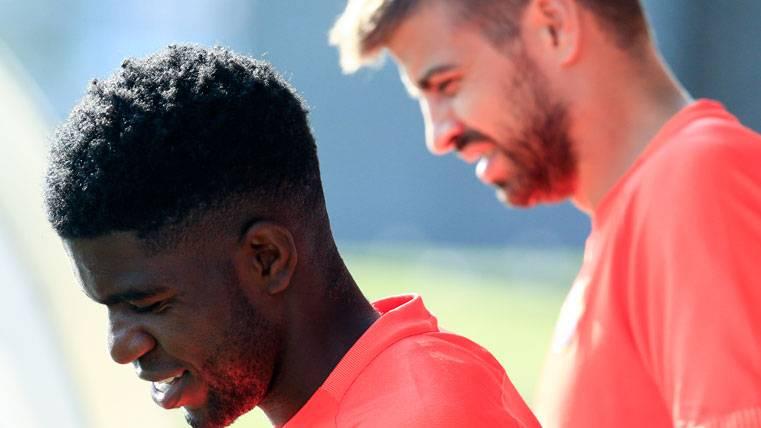 """Umtiti: """"Desde que llegué al Barça, Piqué es un ejemplo"""""""