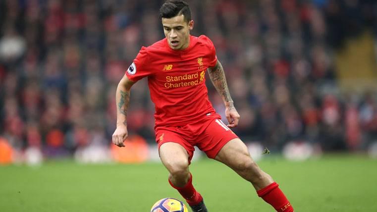 El Liverpool dice 'no' a una oferta del Barça por Coutinho