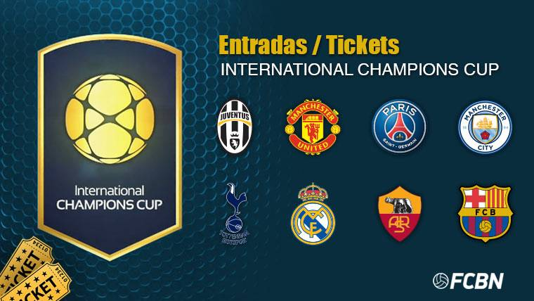 Entradas - Tickets International Champions Cup 2017