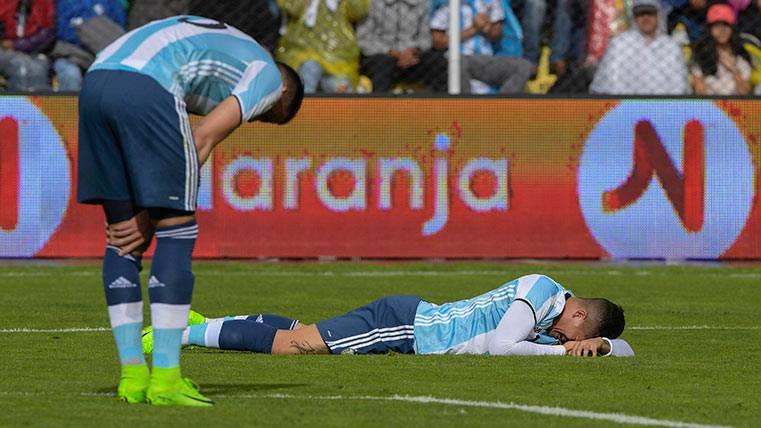 Una Argentina deprimida sin Messi cayó ante Bolivia