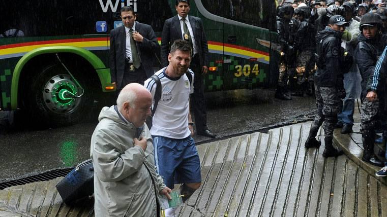 La Apelación de Messi a la FIFA marcha por buen camino