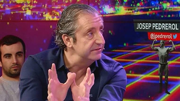 Josep Pedrerol atiza a Guardiola y reitera que es del Barça