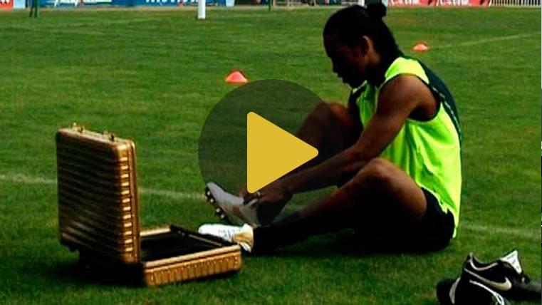 El vídeo de Ronaldinho y el Barça en Youtube que hizo historia