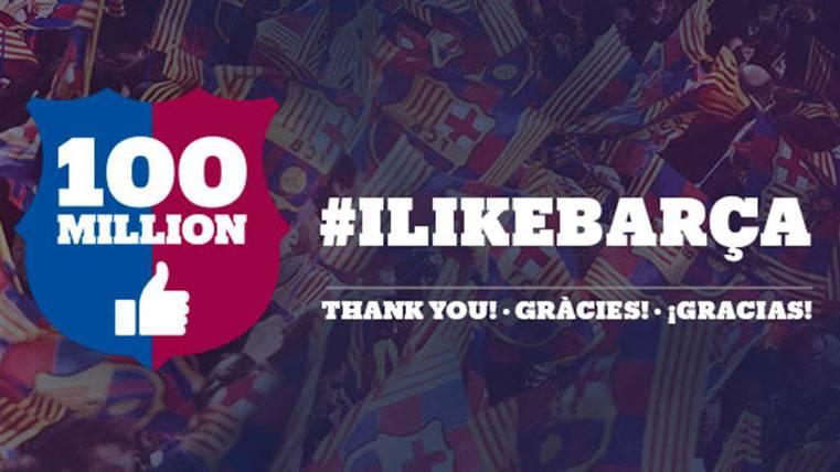 El FC Barcelona entra en el club de los cien millones