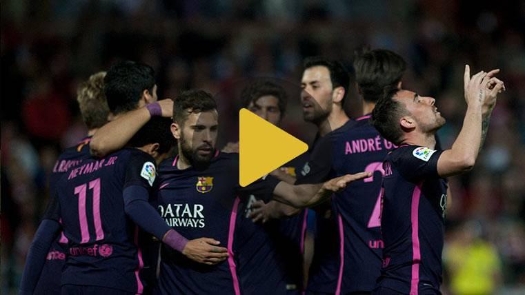Vídeo resumen: Granada 1 Barcelona 4 (LaLiga J29)