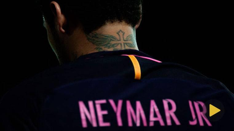 Neymar enamoró con una jugada espectacular en Granada