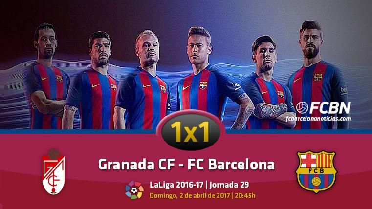 El 1x1 del FC Barcelona frente al Granada (Liga J29)