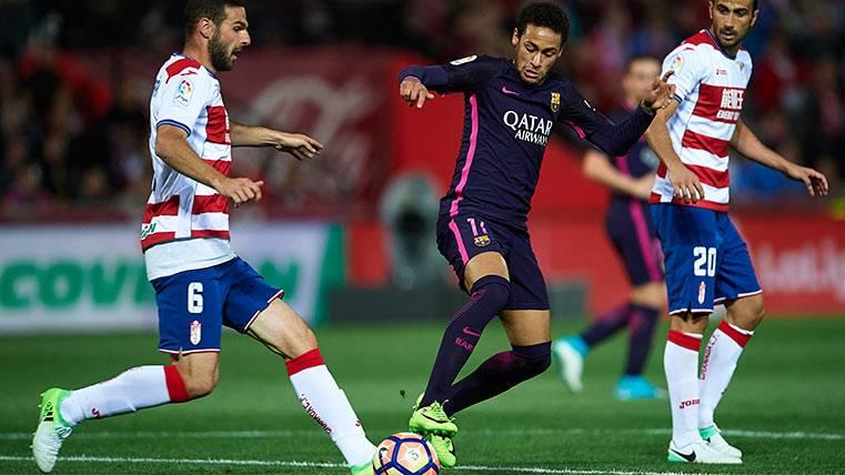 El Barça pide que se proteja mucho más a Neymar Júnior