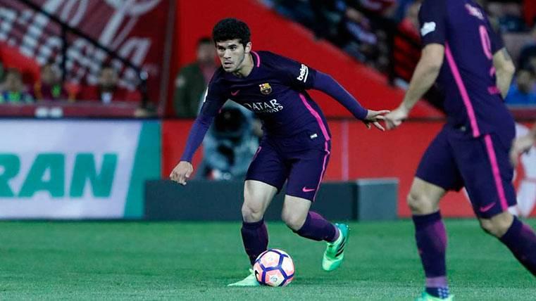 Carles Aleñá ya es una opción real para el 3-4-3 del Barça