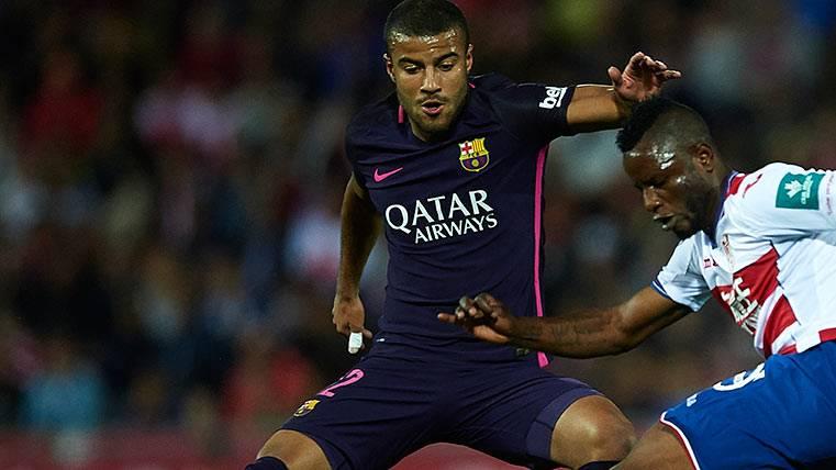 El Barça pone a Rafinha en observación 48 horas
