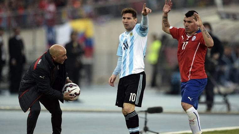 La AFA se reunió con Leo Messi para hablar de Sampaoli