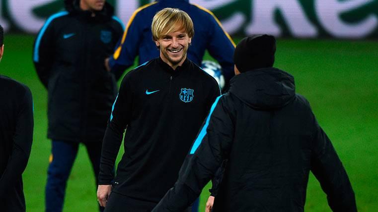 """Rakitic: """"Lucho es una pérdida muy importante del Barça"""""""