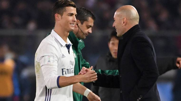 Zidane habría traicionado a Cristiano y Bale por Mbappé