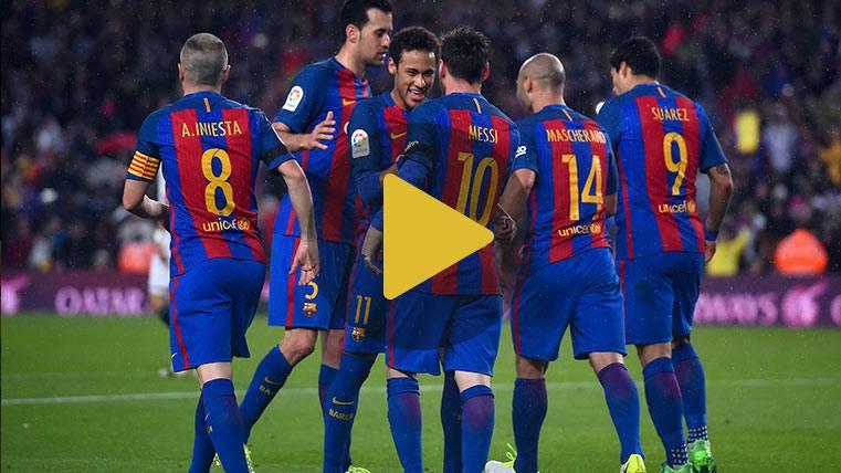 Vídeo resumen: Barcelona 3 Sevilla 0 (LaLiga J30)