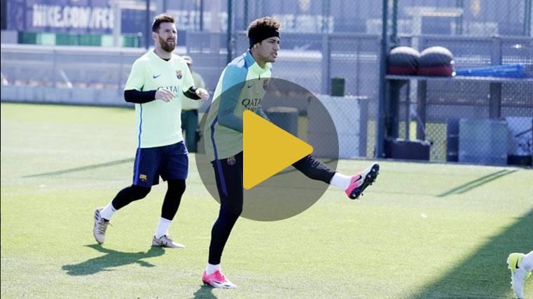 Carbonell y Kaptoum repiten en el entreno antes de Málaga