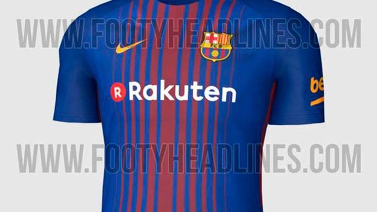 La camiseta del Barça ya se puede comprar por Internet