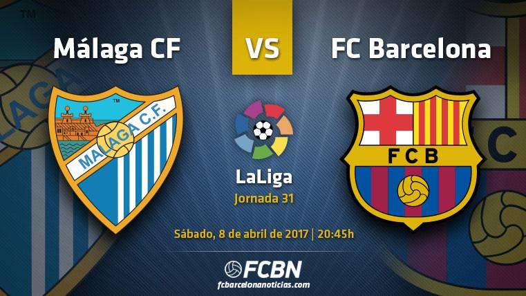 Málaga-Barça: Confianza en Liga antes de asaltar Turín