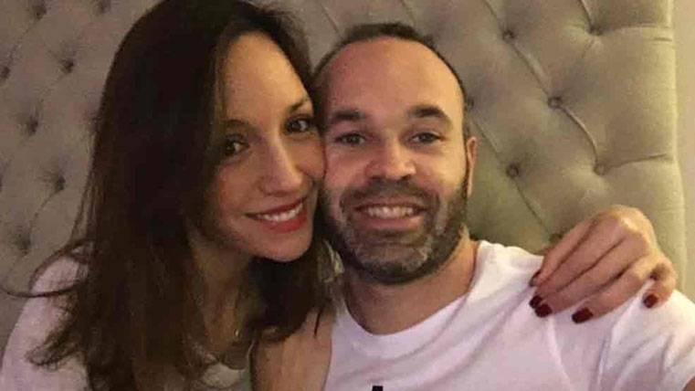 FELICIDADES: ¡Andrés Iniesta será padre por tercera vez!